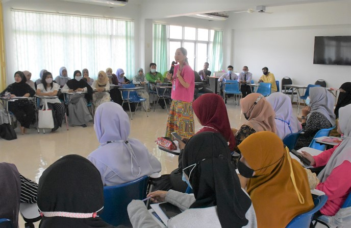 วิทยาลัยชุมชนยะลาจัดฝึกอบรมหลักสูตรภาษาอังกฤษเพื่อการทำงาน (18 ชั่วโมง)