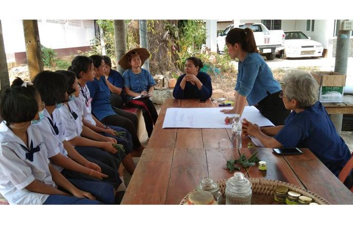 วิทยาลัยชุมชนตราดจัดกิจกรรมการประเมินศักยภาพการท่องเที่ยวชุมชน ตามโครงการประชุมเชิงปฏิบัติการการจัดการความรู้และถ่ายทอดด้านภูมิปัญญา ด้วยกระบวนการค้นหาของดีชุมชนแบบมีส่วนร่วม