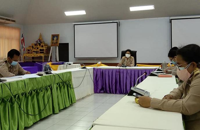 วิทยาลัยชุมชนตราดจัดประชุมคณะกรรมการกลั่นกรองการจัดการศึกษาในวิทยาลัยชุมชนตราด ครั้งที่ 3/2564
