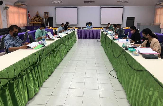 วิทยาลัยชุมชนตราดจัดประชุมอนุกรรมการวิชาการวิทยาลัยชุมชนตราด ครั้งที่ 5/2564