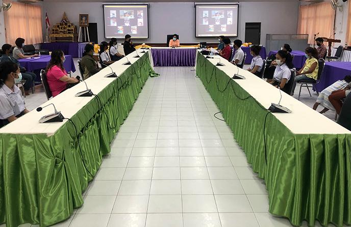 วิทยาลัยชุมชนตราดจัดกิจกรรมโครงการปฐมนิเทศและทำสัญญานักศึกษาทุนนวัตกรรมสายอาชีพ ปีการศึกษา 2564