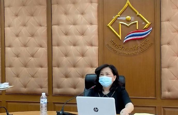การประชุมสภาสถาบันวิทยาลัยชุมชน ครั้งที่ 8/2564