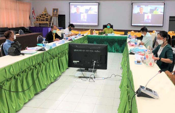 วิทยาลัยชุมชนตราดจัดประชุมอนุกรรมการวิชาการวิทยาลัยชุมชนตราด ครั้งที่ 8/2564