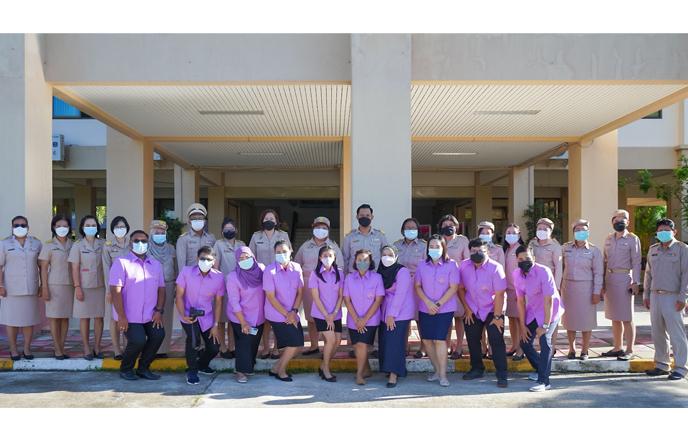 วิทยาลัยชุมชนสงขลา จัดกิจกรรมเนื่องในวันพระราชทานธงชาติไทย 28 กันยายน (Thai National Flag Day) ประจำปี 2564