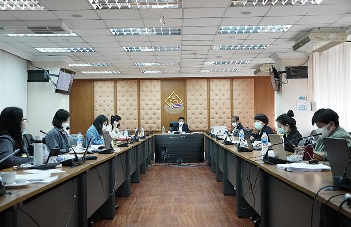 การประชุมคณะกรรมการพิจารณาจัดสรรงบประมาณรายจ่ายประจำปีงบประมาณ พ.ศ. 2565